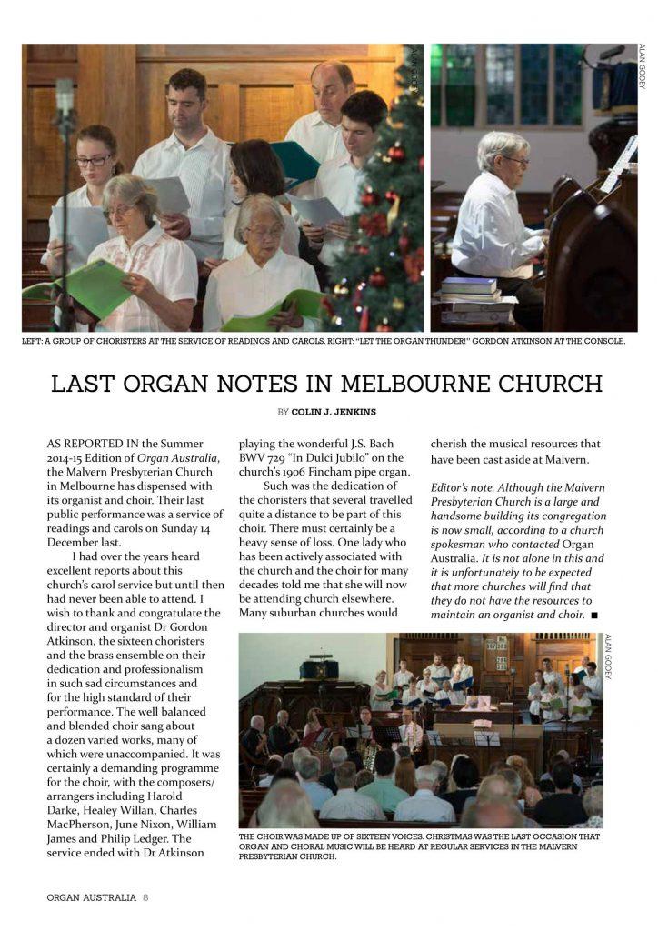 ORGAN AUSTRALIA AUTUMN 2015_page_10