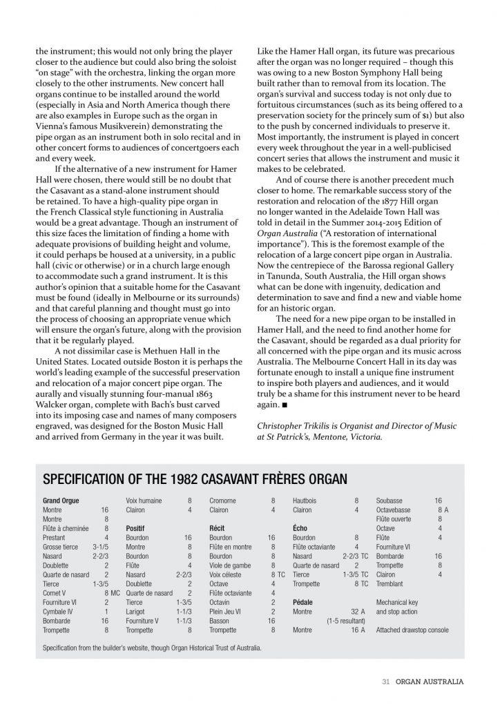ORGAN AUSTRALIA AUTUMN 2015_page_33