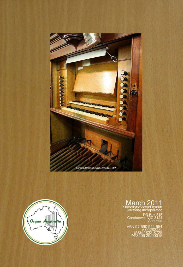 2011 March Organ Australia Cover - oversize SRA3 complete cover_page_1c