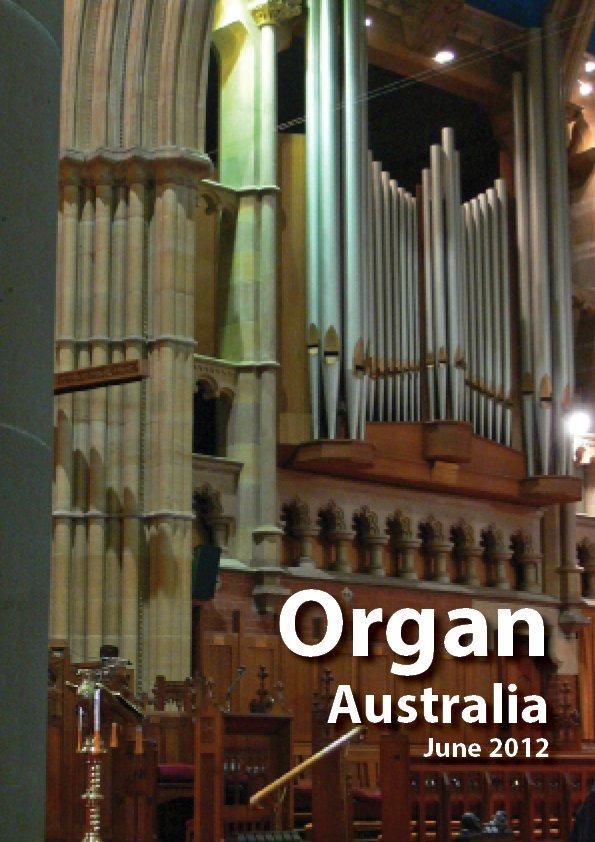 Organ_Australia_2012JuneCover