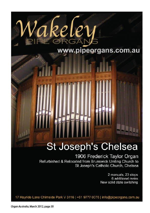 Organ_Australia_2012March30