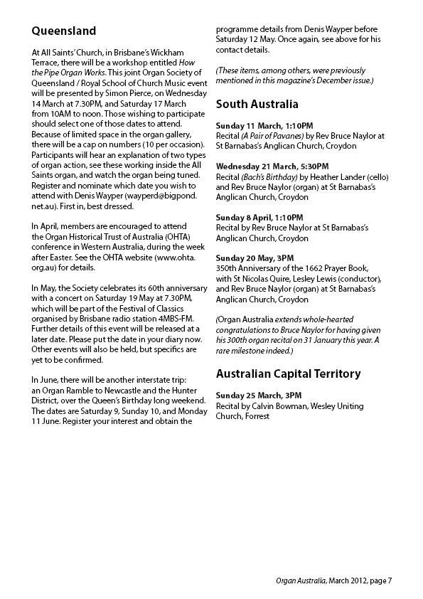 Organ_Australia_2012March7