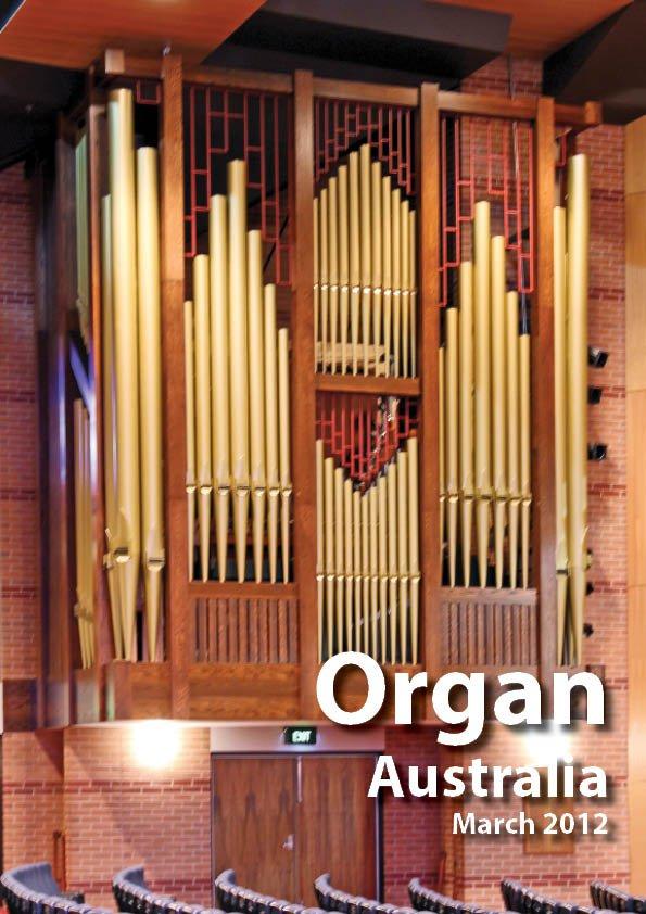 Organ_Australia_2012MarchCover